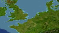 netherlands belgium 3d model