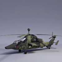 3ds uh tiger attack helicopter