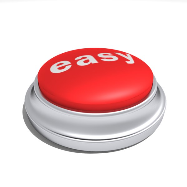 Easy Button Png Easy b...