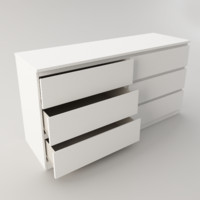 3d ikea chest drawer