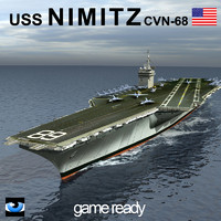 uss nimitz aircraft carrier 3ds