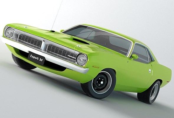 Plymouth Barracuda 1970 Hemi