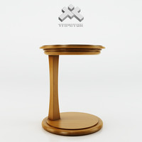 photorealistic table - gem 3d model