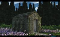 mausoleum 3d model