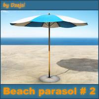 beach parasol 2 max