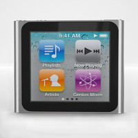ipod nano 3d model