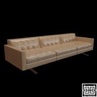 3d model of sofa