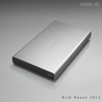 3d freecom external hdd model