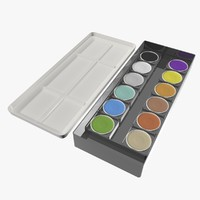 Paintbox  (Tuschkasten)