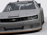 2013 camaro nationwide 3d model