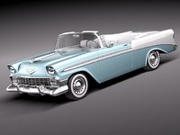 Chevrolet Bel Air 1956 Convertible