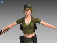 Universal Soldier - Ranger Woman