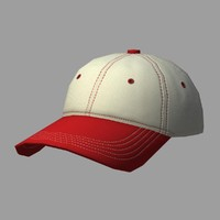 Red and White Cap
