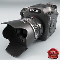 3ds max pentax 645d