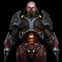 3d future soldier model