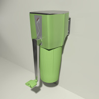 ice crusher 3d model