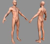 Human Male Bas Naked