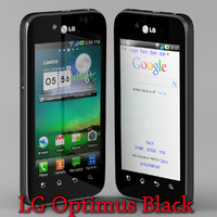 LG Optimus Black New android google cell phone Also known as LG P970