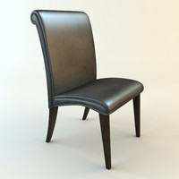 chair materials 3d model
