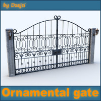 Ornamental gate # 2