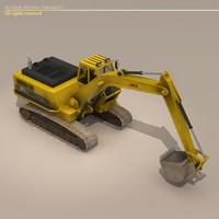 3ds excavator
