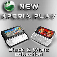 3d sony ericsson xperia play model