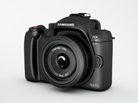 3d model samsung camera nx10