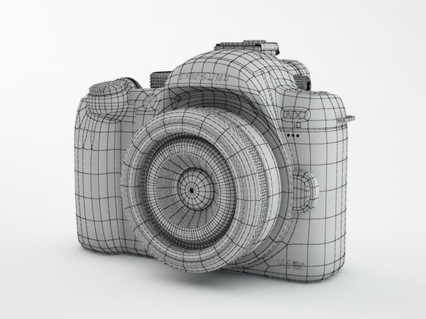 3d model samsung camera nx10 - Samsung digital camera NX10... by 3dKiosKo