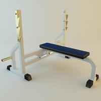 rack rod 3d model