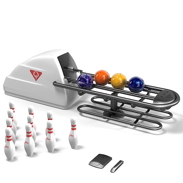Amf Qubica  ball return system bowling equipment rafar foul detector machine pins.jpg