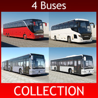 3ds max bus setra 417