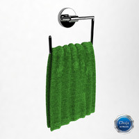 3d towel hanger model