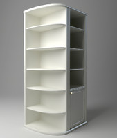 display cabinet 3d max