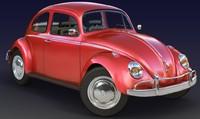 beetle composite toxik 3d obj