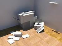 3d model electronics storage -