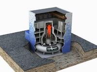 3d fukushima reactor nuclear