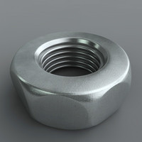 nut seamless uv 3d model