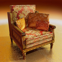 home chair 3d max