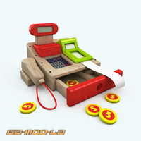 3d childrens toy model