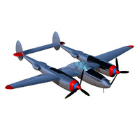 3d model lockheed lightning