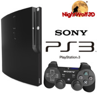 Playstation 3 Slim High Details