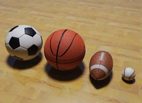 balls basketball football dwg