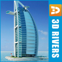 Burj Al Arab by 3DRivers