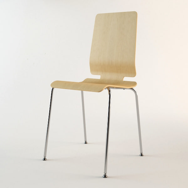 Chair ikea 3d max - Bentwood chairs ikea ...