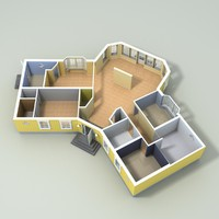 house home 3d 3ds