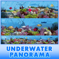 3ds max panorama underwater