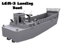 LCM-3 Landing Boat