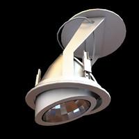 3d 3ds ceiling light medical