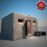 afghanistan house v8 3d max