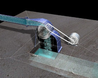 3d model turbine banki michelle